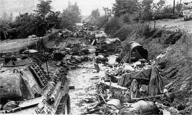 falaise pocket casualties