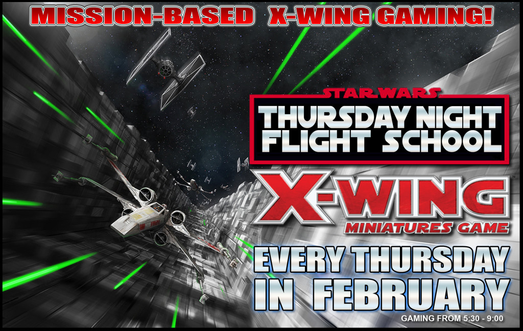 X-WING Thurs feb fly school