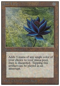 MtG-black lotus