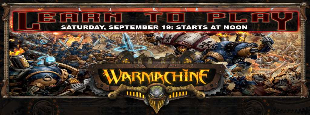 Warmachine L2P Event banner 2015-09-19