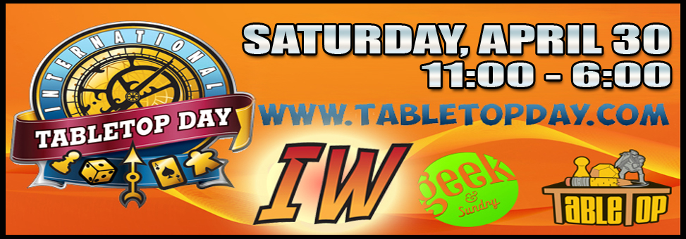 Tabletop day on the blog