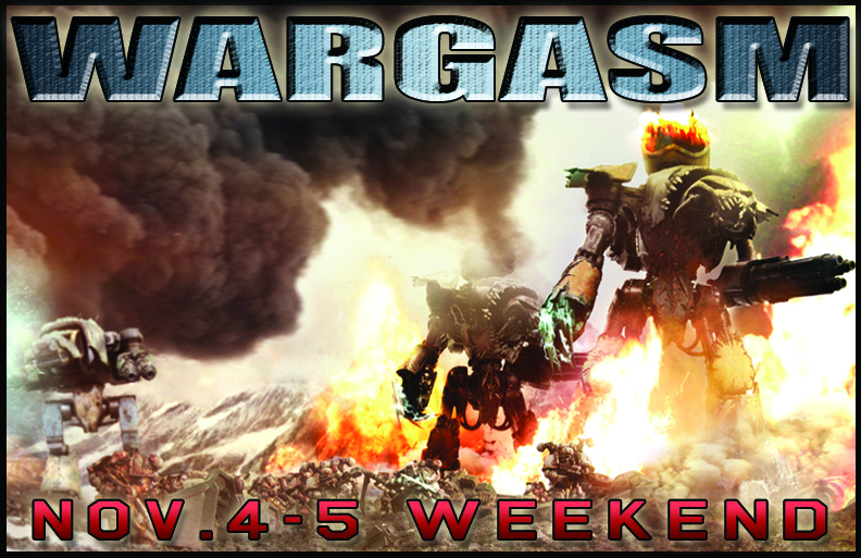 Wargasm weekend