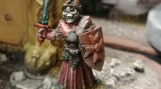 Some of the hand-painted models now being sold at Imaginary Wars!